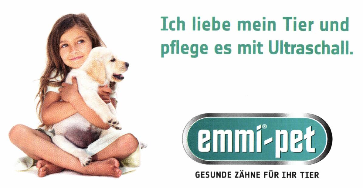 zahnstein emmi-pet Hunde Zahnbürste | Sanft und ohne zu bürsten in Zurich Pet Flyer Liebe Mein Tier 2018 02 14 1453