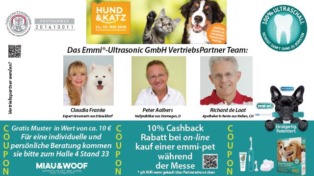 emmi®-pet - dog & Katz Dortmund 2018